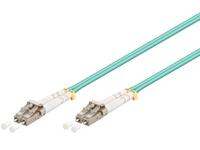 FIB442008 MicroConnect LC/UPC-LC/UPC 8M 50/125 MM OM3 Multimode Duplex LSZH - eet01