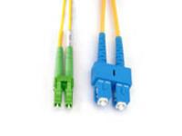 FIB841005 MicroConnect SC/APC-LC/UPC 5M 9/125 SM SINGELMODE DUPLEX OS1 LSZH - eet01