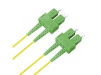 FIB881003 MicroConnect SC/APC-SC/APC 3M 9/125 OS2 Singlemode Duplex LSZH - eet01