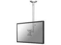 "NewStar Flatscreen Ceiling Mount 10 - 30"", Height 50 - 85cm FPMA-C050SILVER - eet01"