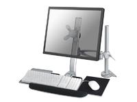"NewStar Flatscreen Desk Mount 10 - 24"", keyboard & mouse FPMA-D1020KEYB - eet01"