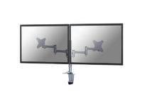 """NewStar Flatscreen Desk Mount 23-47"""", Clamp FPMA-D1330DSILVER - eet01"""