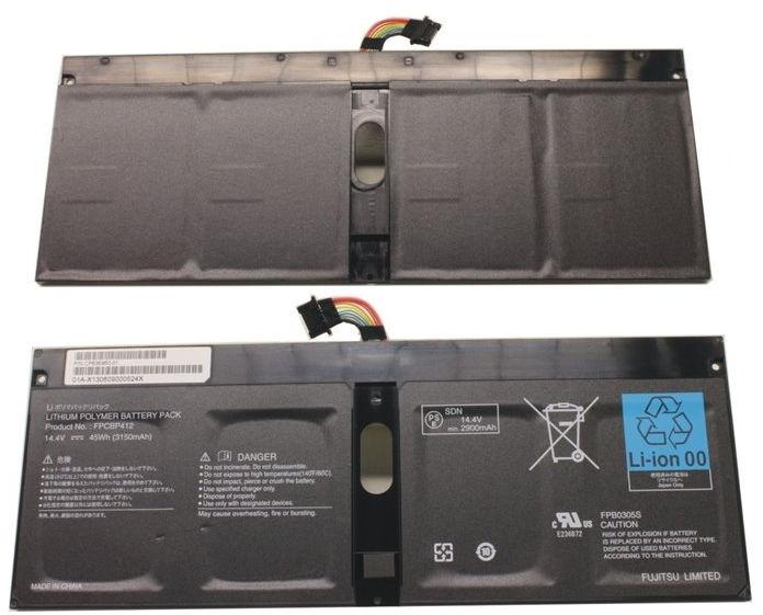 Fujitsu Main Battery (4 Cell)  FUJ:CP655443-XX - eet01