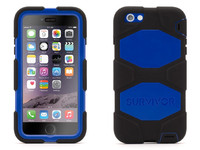 Griffin Survivor All-T iPhone 6 Plus Black/Blue GB40545 - eet01