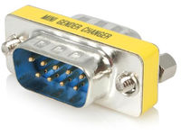 StarTech.com SLIMLINE DB9 GENDER CHANGER  GC9SM - eet01