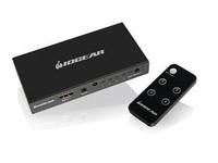 IOGEAR 4-Port 4K HDMI Switch With Remote GHDSW4K4 - eet01