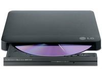 LG Ext Slim USB 8x black  GP50NB40 - eet01
