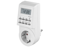 MicroConnect Digital day & week timer clock 12- or 24h display GRUTIMER1 - eet01