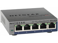 Netgear 5P Switch 10/100/1000 GS 105E  GS105E-200PES - eet01