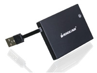 IOGEAR Portable Smart Card Reader  GSR203 - eet01