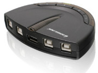 IOGEAR 4-Port PrinterShare USB  GUB431 - eet01