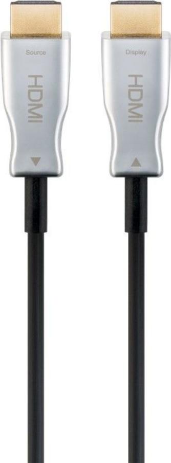MicroConnect Premium Optic HDMI Cable 10m HDMI 2.0 4K 60Hz,18Gbp HDM191910V2.0OP - eet01