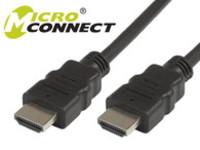 MicroConnect HDMI V2.0 19 - 19 2m M-M HDMI 2.0 4Kx2K@60Hz HDM19192V2.0 - eet01