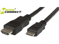 MicroConnect HDMI2.0 19 - 19 C mini 2m M-M HDMI2.0 CAT2 compatible HDM1919C24K - eet01