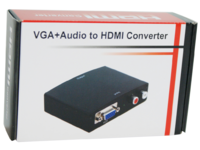 MicroConnect VGA+R/L Audio - HDMI Converter  HDM1924V - eet01