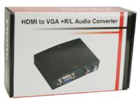 HDM1925V MicroConnect HDMI to VGA+Audio Converter Digital-Analog - eet01