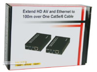 MicroConnect HDMI Extender Cat 5/6 100m Over one Cat5e/6 cable HDMEX100 - eet01