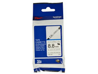 Brother HSe tape 9mmx1,5m black/white  HSE221 - eet01