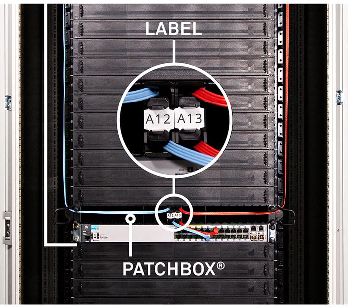 PATCHBOX Identification Label 96pcs.  IDLABELW - eet01