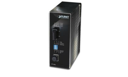 Planet IP30 Slim type Industrial Fast Ethernet Media Converter IFT-802TS15 - eet01