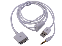 IP1001 MicroConnect IPhone cable charge and play 1,2M - eet01