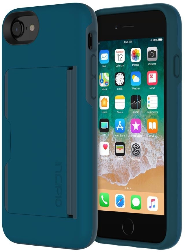 Incipio Stowaway iPhone 8/7 Navy IPH-1477-NVY - eet01