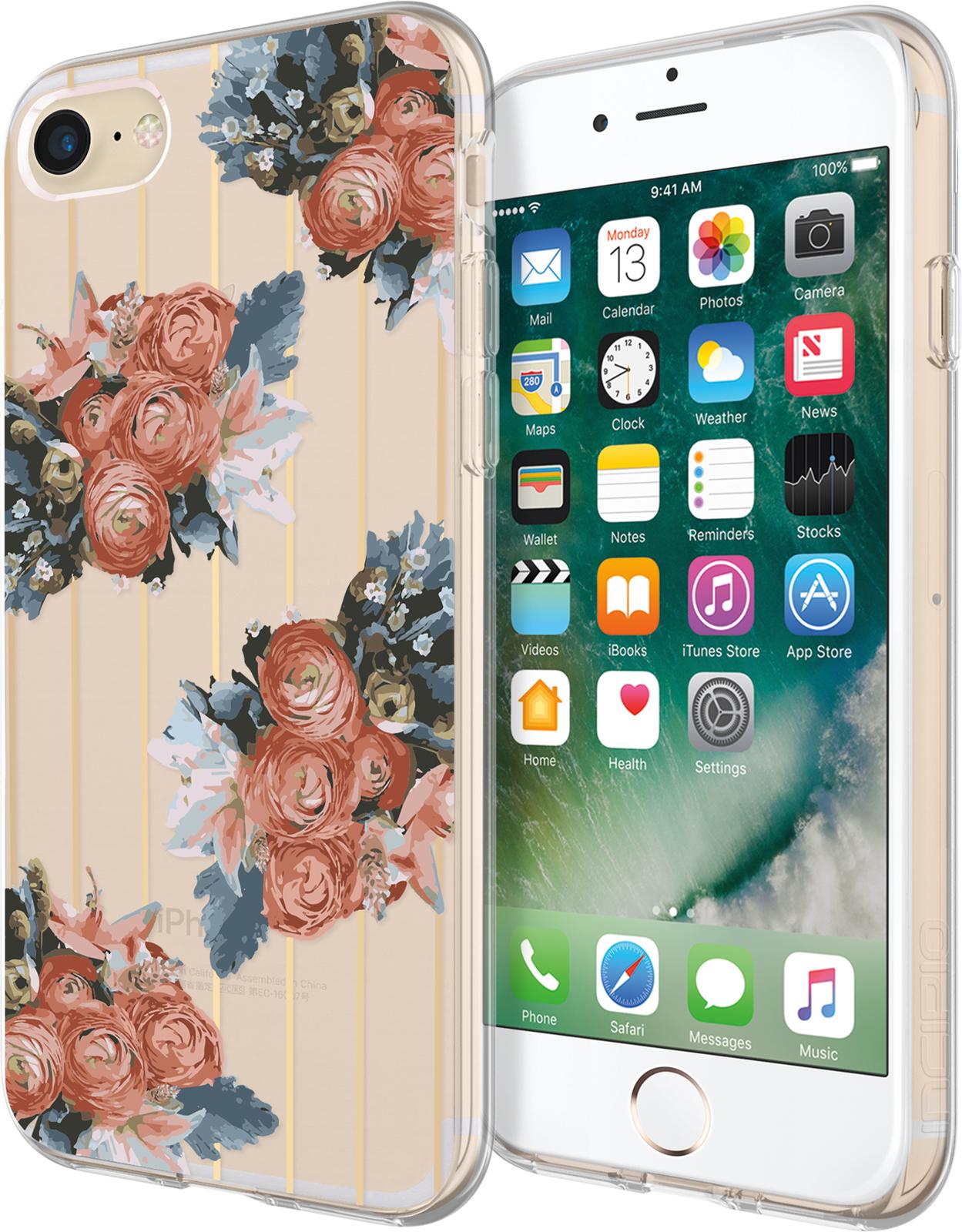 Incipio Design Series iPhone 7 Rustic Floral IPH-1483-RFL - eet01