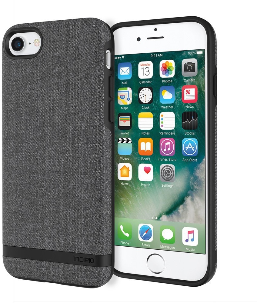 Incipio Esquire Series iPhone 8/7 Carnaby - Gray IPH-1485-CGY - eet01