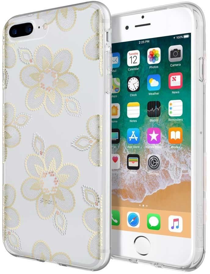 Incipio Design iPhone 8/7/6/6s Plus Beaded Floral IPH-1555-BFL - eet01