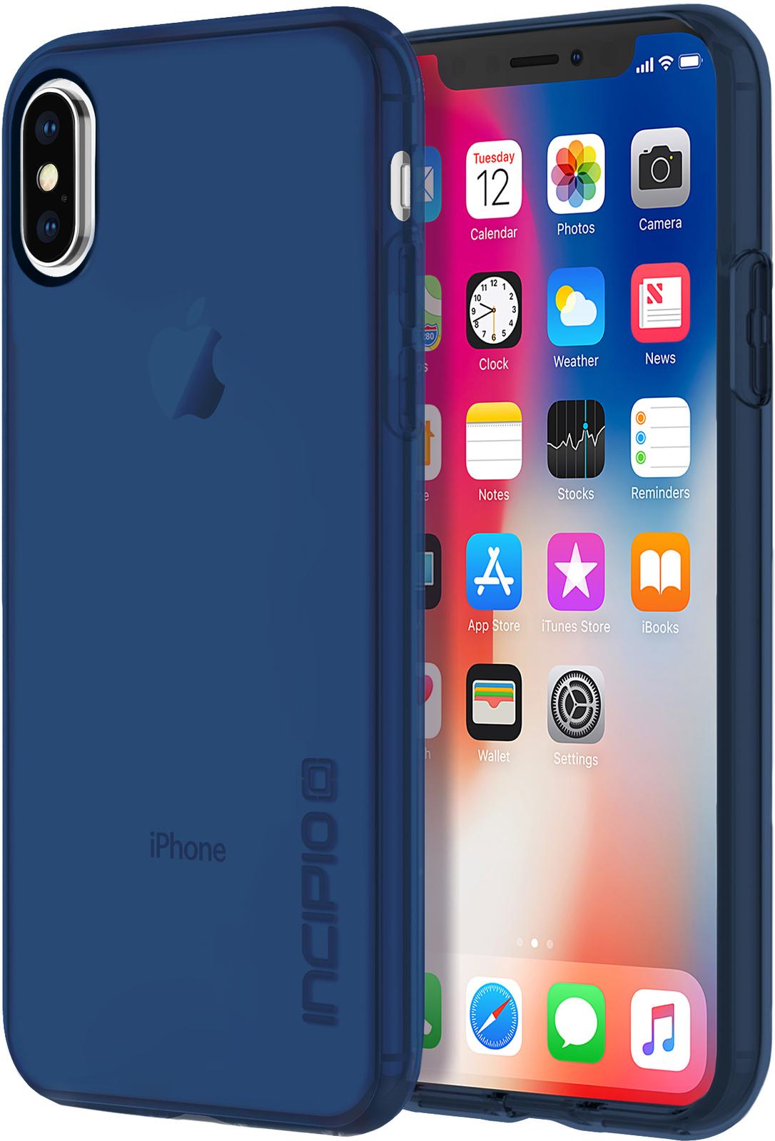 Incipio NGP Pure iPhone X Navy IPH-1630-NVY - eet01