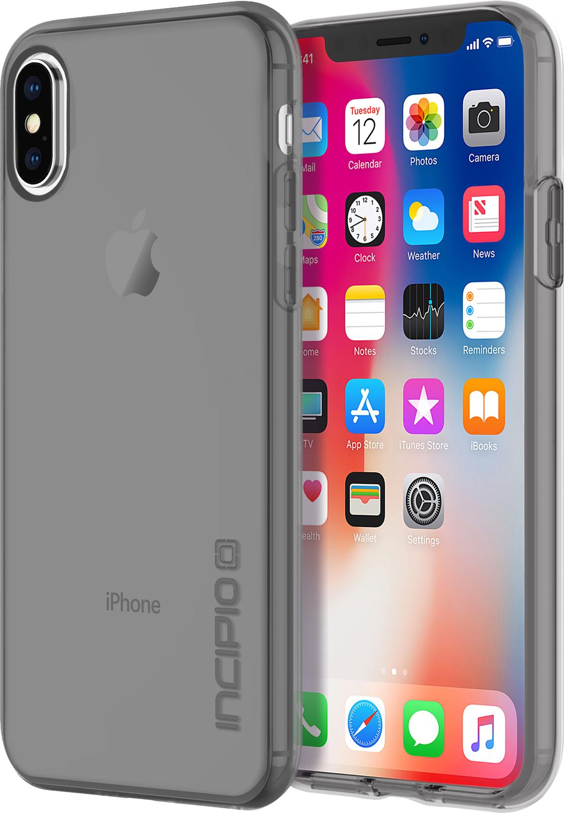 Incipio NGP Pure iPhone X Smoke IPH-1630-SMK - eet01