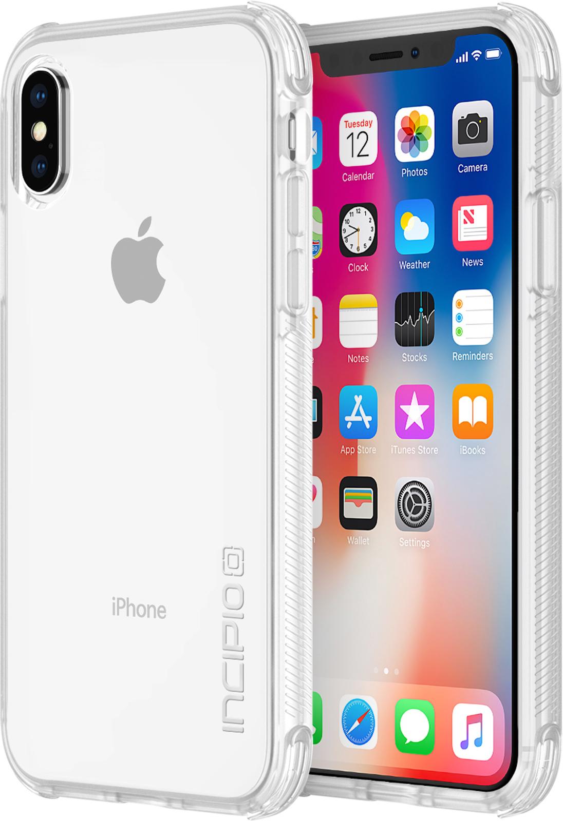 Incipio Reprieve Sport iPhone X Clear/Clear IPH-1633-CLR - eet01