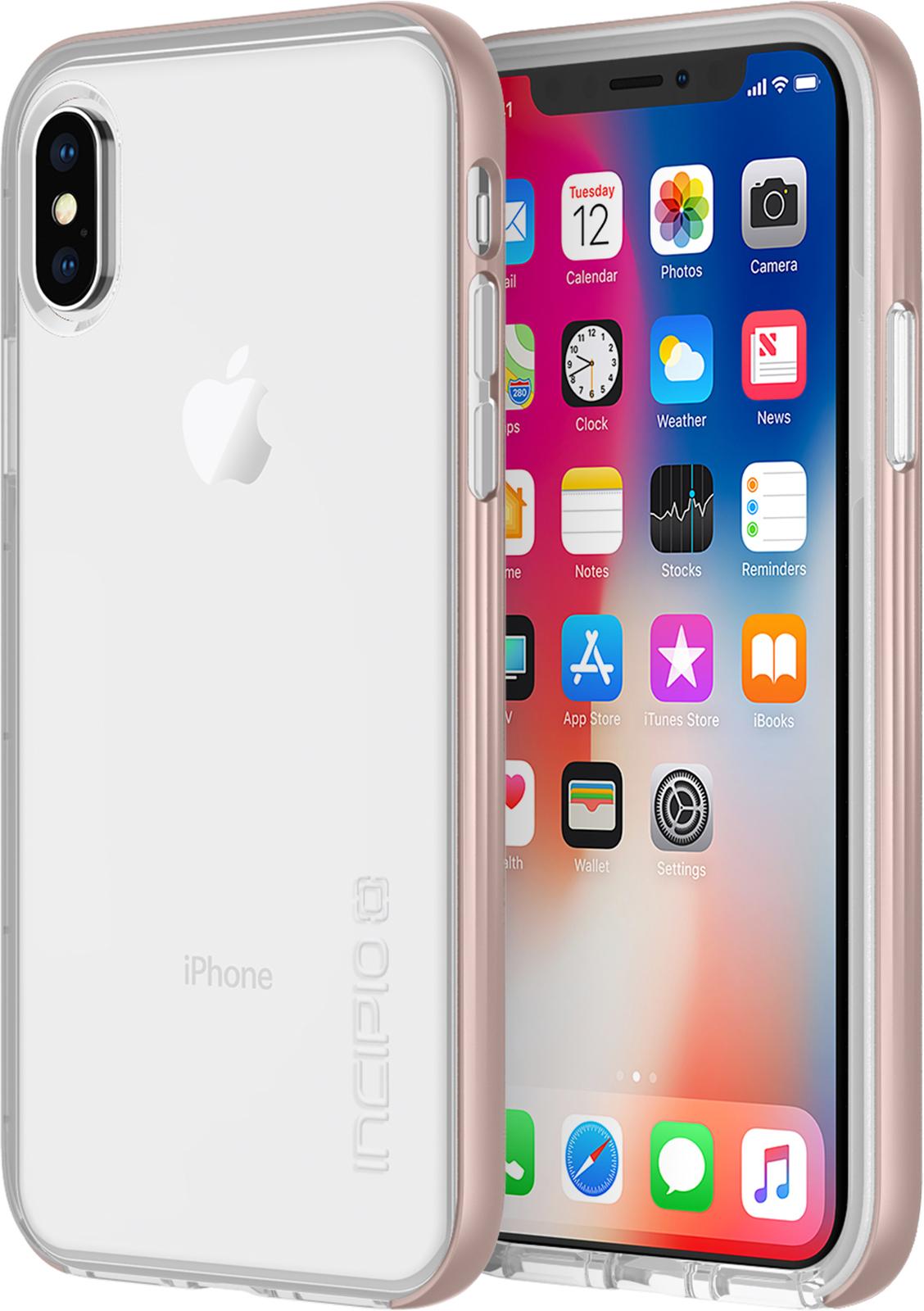 Incipio Octane LUX iPhone X Rose Gold  IPH-1639-RGD - eet01