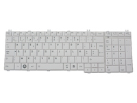 K000115410 Toshiba Keyboard (FRENCH) White - eet01
