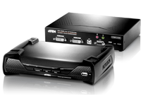 Aten DVI KVM Over IP Extender Dual Screen (T+R) KE6940-AX-G - eet01