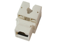 KEYSTONE-1 MicroConnect UTP Cat. 5e Keystone Jack. White - eet01