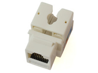 MicroConnect UTP Cat. 6  Keystone Jack. White KEYSTONE-2 - eet01
