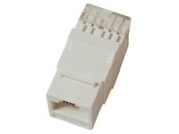 KEYSTONE-4 MicroConnect UTP Cat. 6  Keystone Jack. 180 degree, White - eet01
