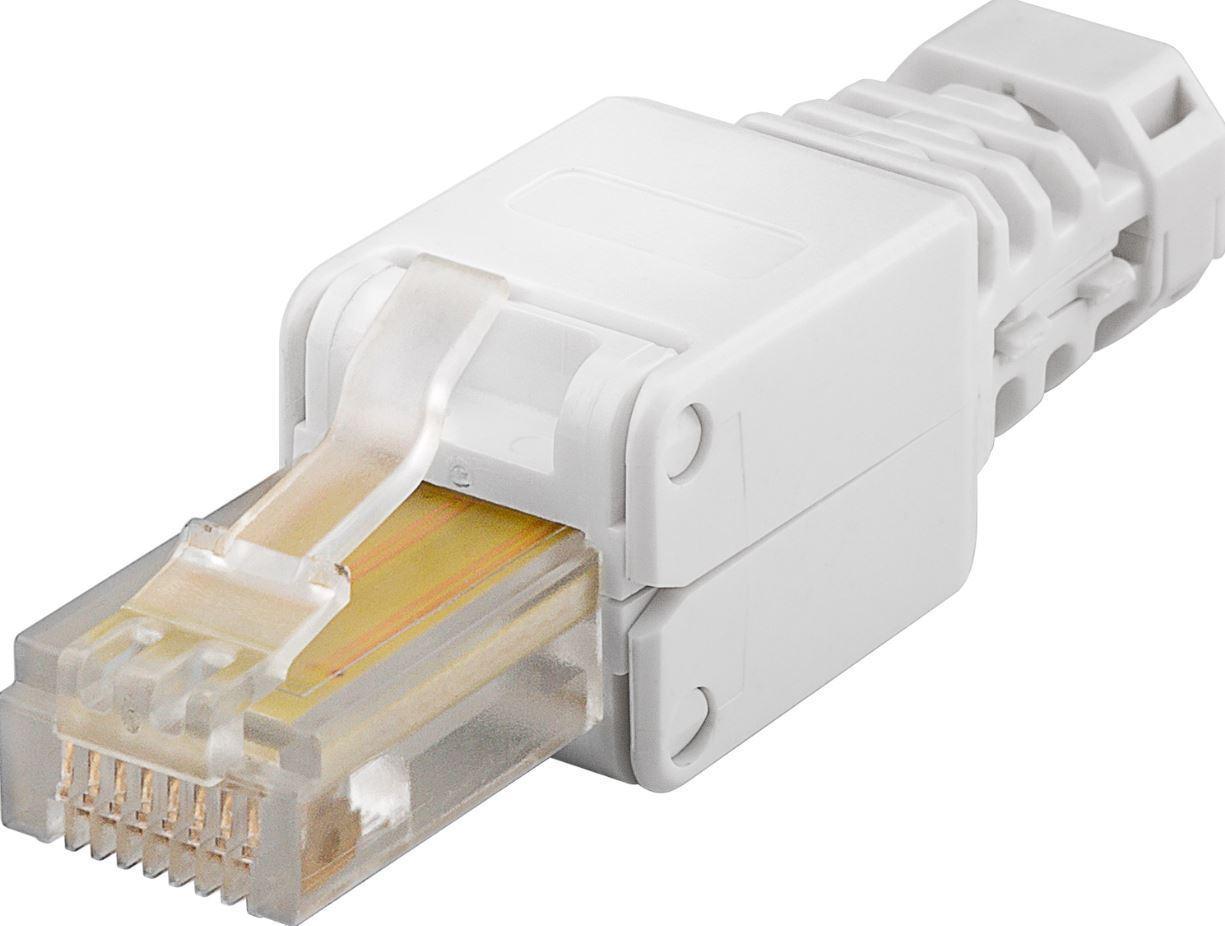 MicroConnect Tool-free RJ45 CAT5e connector CAT 5e UTP(unshielded) KON519TL - eet01