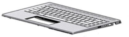HP Top Cover W Kb Nsv Bl Intl  L19191-B31 - eet01
