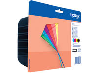 Brother LC-223 BLISTER BLACK CYAN MAGENTA YELLOW LC223VALBPDR - eet01