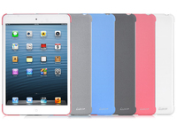 LHA0087-E LUXA2 Sandstone iPad mini case/White Special sandstone paint finish - eet01