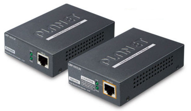 Planet 1-Port Long Reach POE over UTP Ext Kit LRP-101UH/101UE LRP-101U-KIT - eet01