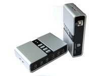 ST Labs 7.1 Channel USB2.0 Soundbox  M-330 - eet01