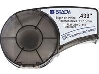 Brady Black on White 2,1m x 11,15mm Shrinking M21-250-C-342 - eet01