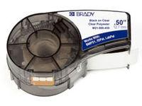 Brady Black on Clear 6,4m x 12,7mm Polyester M21-500-430 - eet01