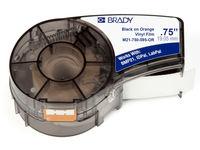 Brady Black on Orange 6,4m x 19,05mm Vinyl M21-750-595-OR - eet01