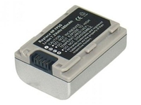 MBF1040 MicroBattery 7.2V 680mAh Silver NP-FP30 Sony, NP-FP30, NP-FP50 - eet01
