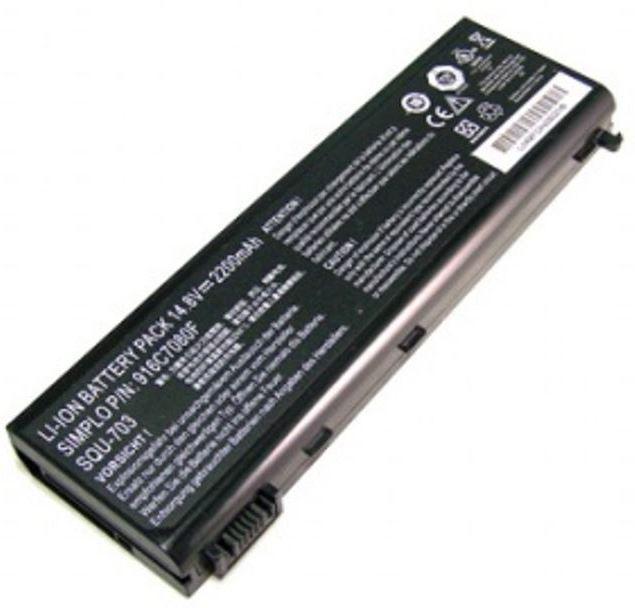MicroBattery 4 Cell Li-Ion 14.8V 2.2Ah Laptop Battery for PackardBell MBI2375 - eet01