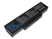MicroBattery 6 Cell Li-Ion 11.1V 4.8Ah 53wh Laptop Battery for Asus MBI50501 - eet01